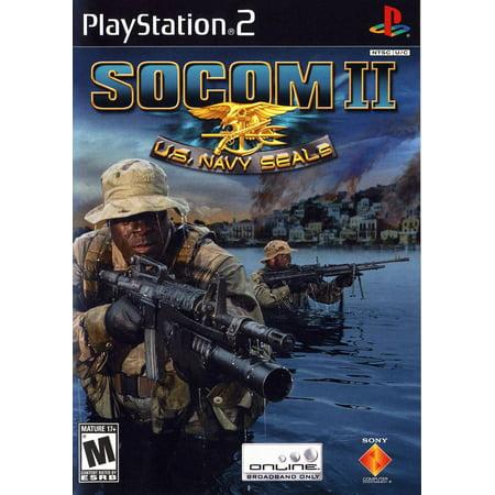 SOCOM II US Navy Seals - PS2 Playstation 2