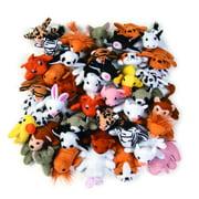 Mini Plush Animal Assortment (50Pc) - Toys - 50 Pieces