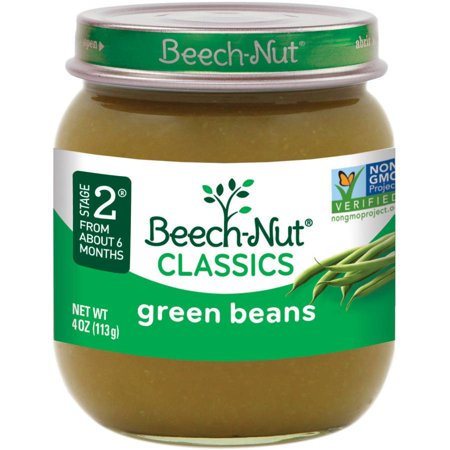 (10 Pack) Beech-Nut Classics Stage 2 Green Beans Baby Food, 4 (4 Years Baby Food Chart In Hindi)
