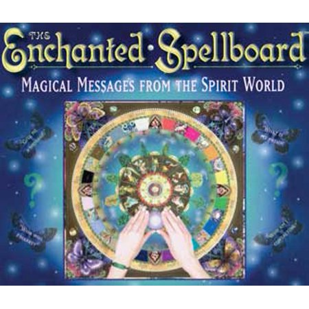 Contact For Halloween (Party Games Accessories Halloween Séance Tarot Cards Enchanted Spellboard Ouija Spirit Contact by Zerner/)