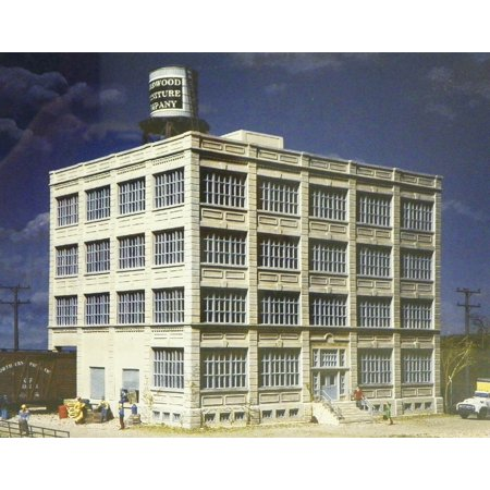 Walthers Cornerstone HO Scale Building/Structure Kit Hardwood Furniture