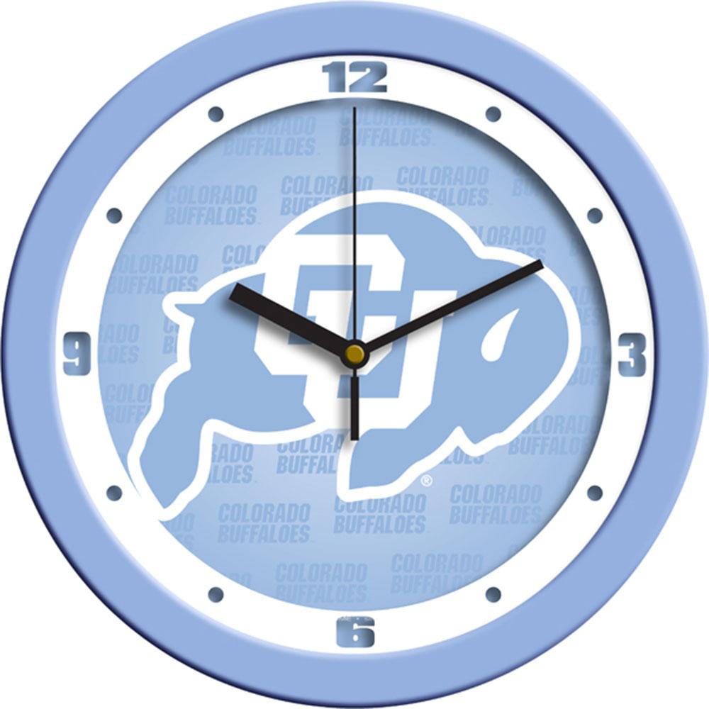 Colorado Golden Buffaloes NCAA Wall Clock (Blue)