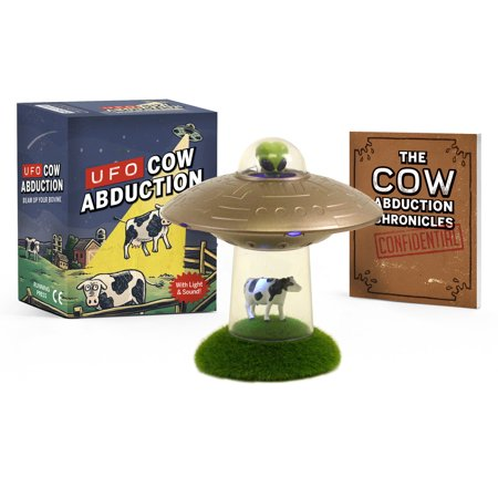 UFO Cow Abduction : Beam Up Your Bovine (With Light and Sound!)