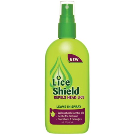 Lice Shield Leave In Spray 5 oz (Consumer Reports Best Lice Treatment)