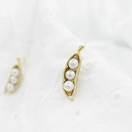 Women Bead Earrings Girl Party Anniversary Gift Ear Studs Female Wedding Jewelry - image 3 of 6