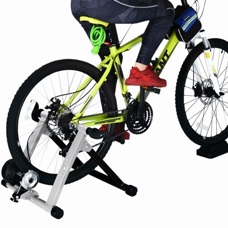 Bike Trainer Stand, Heavy Duty Stable Riding Stand Supports 350lbs Indoor Bicycle Trainer Fits 26-28
