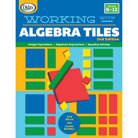 WORKING WITH ALGEBRA TILES - Algebra Tiles Classroom Set