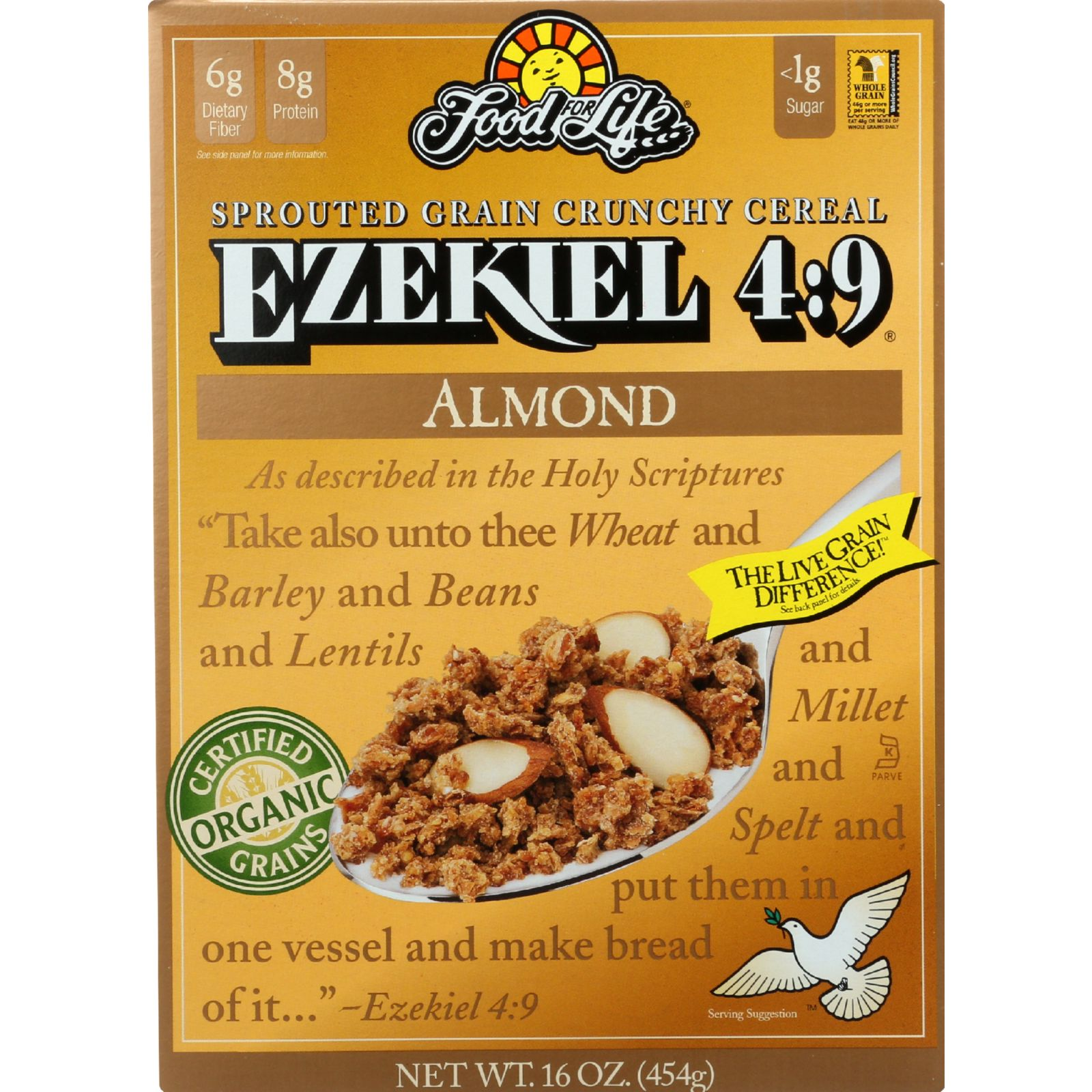 Food For Life Baking Co. Cereal - Organic - Ezekiel 4-9 -...