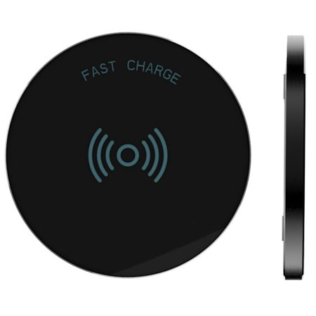 RNDs Fast Charge Wireless Charging Pad for Apple iPhone (8, 8 Plus, X, 10),  Samsung Galaxy (S8, S8 Plus, S7, S6), Note 8, LG (G6, V30) and other QI