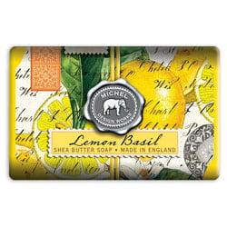 Michel Design Works Lemon Basil Large Bath Soap Bar