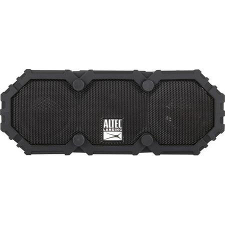 Altec Lansing IMW477-BLK Mini Life Jacket 2 Bluetooth Waterproof Speaker,
