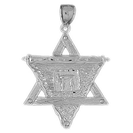 Sterling silver star of david pendant 41 mm approx 4505 grams sterling silver star of david pendant 41 mm approx 4505 grams aloadofball Choice Image