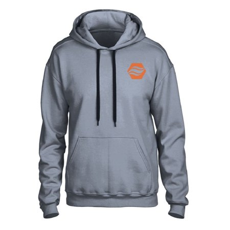 Stay Warm Apparel Heated Hoodie With Rechargeable Battery - Gray - L/XL