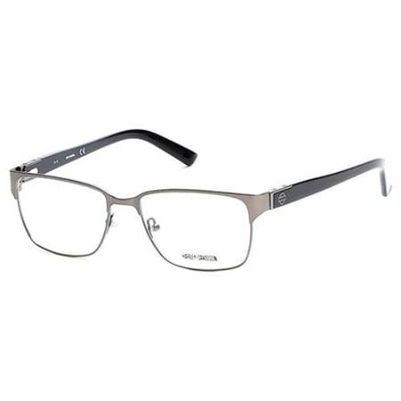HARLEY DAVIDSON Eyeglasses HD0738 009 Matte Gunmetal 55MM - Walmart.com