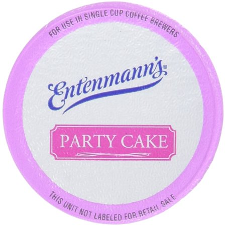 Entenmann's Party Cake Coffee K-Cups 35 - Halloween Dirt Cake Cups