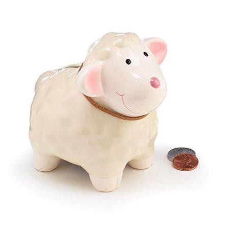 Burton & Burton Bank Lamb Shape With Strap Bank