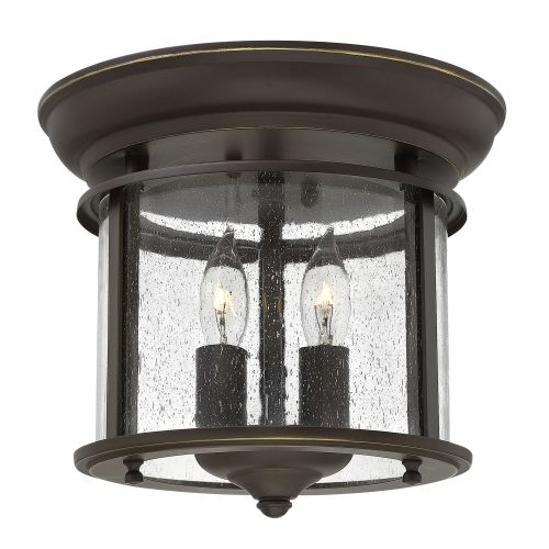 Hinkley Lighting 3472 2-Light Semi-Flush Ceiling Fixture from the Gentry Collection