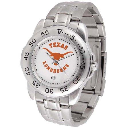 Texas Sport Men's Steel Band Watch