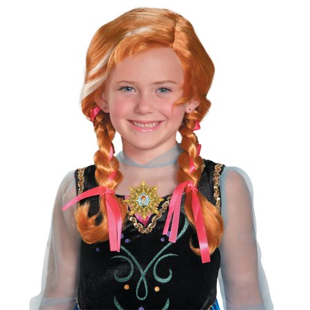 Anna Frozen Girls Costume Wig DIS82467/196