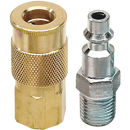 "Campbell-Hausfeld MP5155 1/4"" NPT Industrial Coupler and Plug"