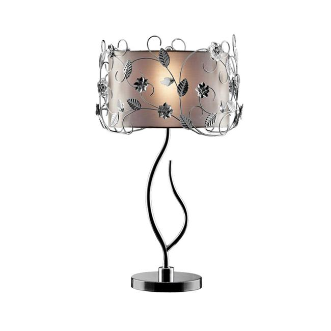 34 in. Silver Crystal Table Lamp - image 1 of 1
