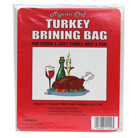 Tender Turkey - Majestic Chef Brining Bag