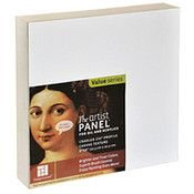 Ampersand The Artist Panel Canvas Texture Cradled Profile (8 In. x 8 In.) - 3/4 In. (2 Units Included)