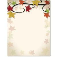 Autumn Vine Letterhead Laser & Inkjet Printer Paper