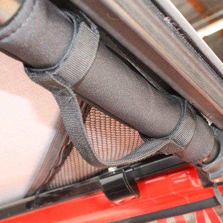 EAG Standard Grab Handles Roll Bar Mount Black (1 Pair) ()