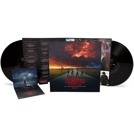Stranger Things: Music From Netflix Series Season 1 (Clips To Hang Things On Vinyl Siding)