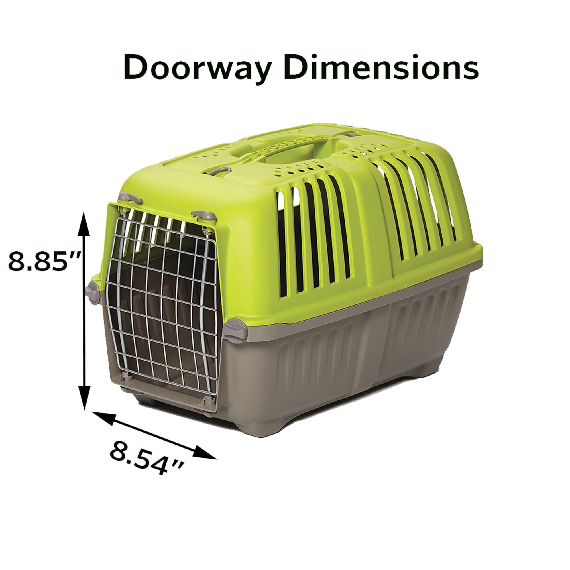 Midwest Spree Hard Sided Pet Carrier 22 Inch Ideal For Xs Breeds Green Walmart Com Walmart Com