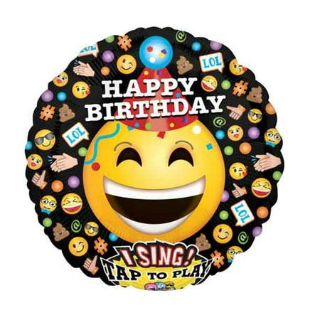 Happy Birthday Singing Balloon - 28