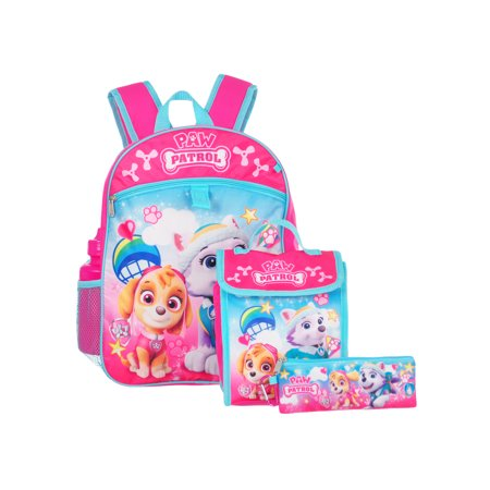 Paw Patrol 5-Piece Backpack - Paw Patrol Accessories