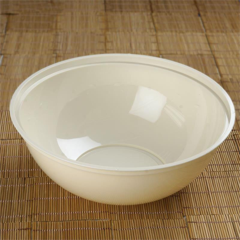 Efavormart 12 Pcs - Round 4qt Disposable Plastic Serving Bowl