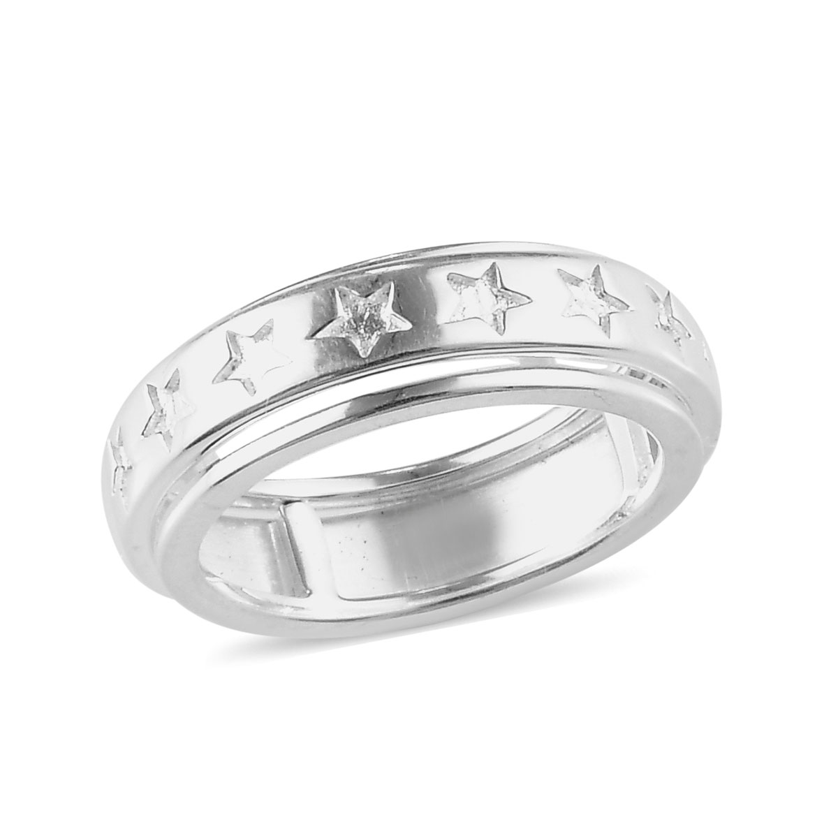 USA Seller Spinner Ring Sterling Silver 925 Best Price Jewelry Gift Selectable
