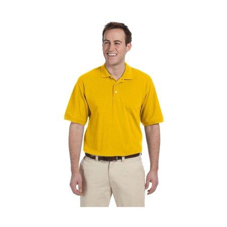 Harriton Men's Easy Blend Pique Polo Shirt, Style M265 Harriton 100% Pique