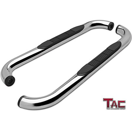 TAC Side Steps for 1980-1996 Ford Bronco Full Size (97 HD Models Only) / Ford F-Series Regular Cab Pick Up (Incl. 97 HD) Truck Pickup 3