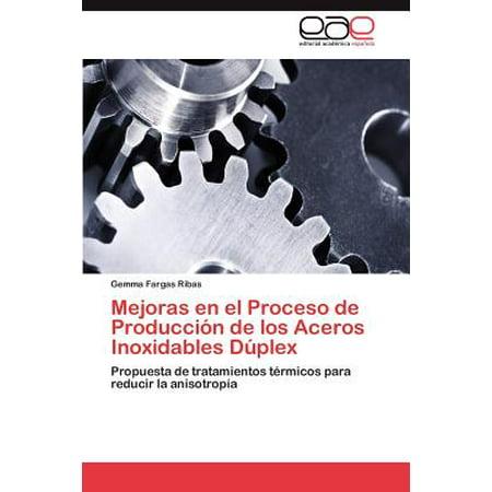 Mejoras En El Proceso de Produccion de Los Aceros Inoxidables Duplex (Cubiertos De Acero Inoxidable)