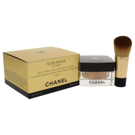 Chanel Sublimage Le Teint Ultimate Radiance-Generating Cream Foundation - # 10 Beige 1 oz (Chanel Sublimage La Creme Ultimate Skin Regeneration)