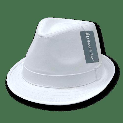 Decky Melton Wool Fedora Hat Black Small//Medium