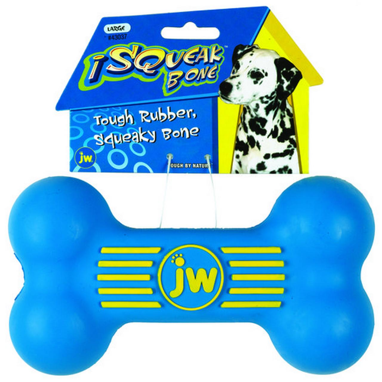 PETMATE Dog Toy, I-Squeak Bone, Large