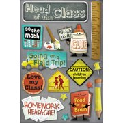 School Cardstock Stickers 5.5 Inch X 9 Inch-Stick To It