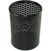 Artistic, AOPART20005, Urban Collection Punched Metal Pencil Cup, 1 Each, Black