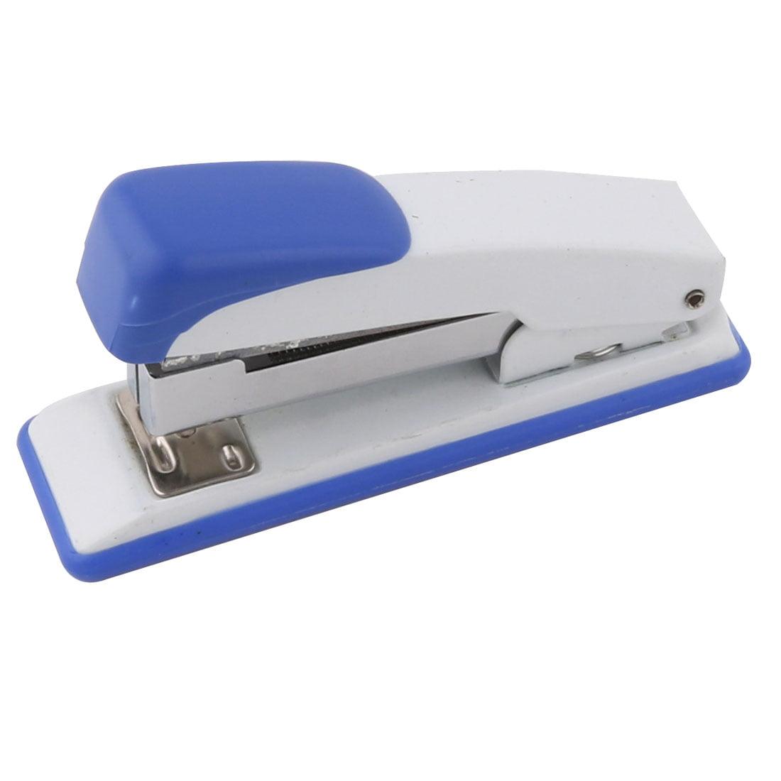 Office School Plastic Shell Paper File Binding Stapling Stapler Binder