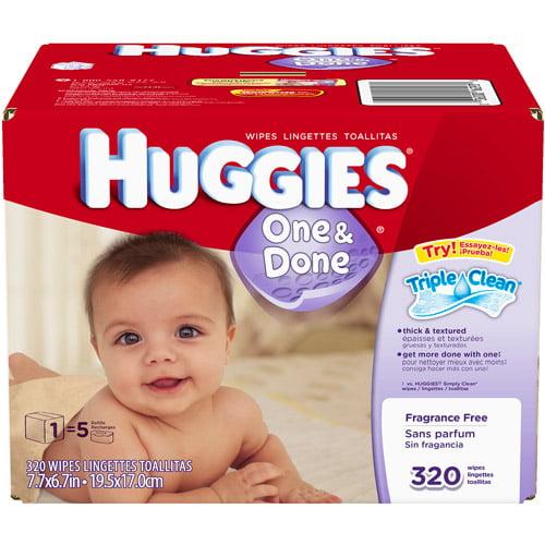Huggies Hug Sup Ff 320 Ct Box