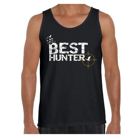 Awkward Styles Best Hunter T Shirt for Men Best Hunter Ever Shirt Hunting Lovers T-Shirt for Him Hunting Shirt for Husband Hunting Birthday Gifts for Dad Deer Hunting Fans Best Hunter