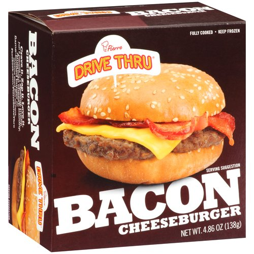 Pierre Drive Thru Bacon Cheeseburger