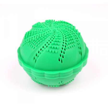 (Laundry Ball Wash Ball by ECO SPIN - Eco-Friendly all Natural Detergent Alternative - Used up 1000 Loads - Washing ball for Washing Machine Easy to Use Perfect Gift Save Money Bra Cup (1 UNIT))