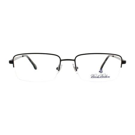 ce755a21fd BROOKS BROTHERS Eyeglasses BB1035 1630 Brushed Gunmetal 53MM Image 3 of 7