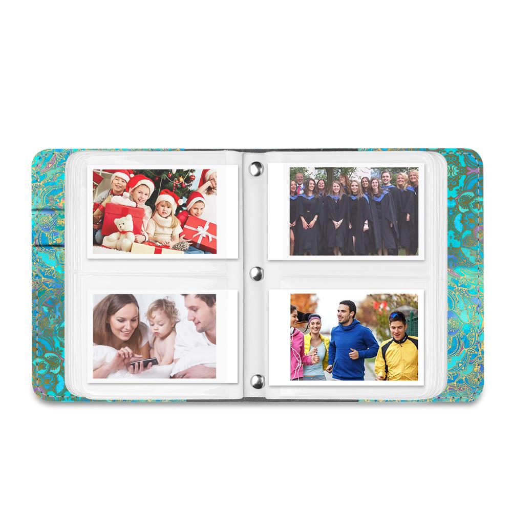 104 Mini Films Photos Album pour Fujifilm Instax Mini 9//8 // 90//25 // 70 Polaroid Z2300 PIC-300P 3-inch Film Colorful Mosaic Instax SP-2 SP-1 Fintie Fujifilm Instax Mini Film Album